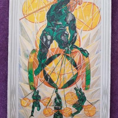 2月21日(木)のカードと「意識を向けることで」の記事に添付されている画像