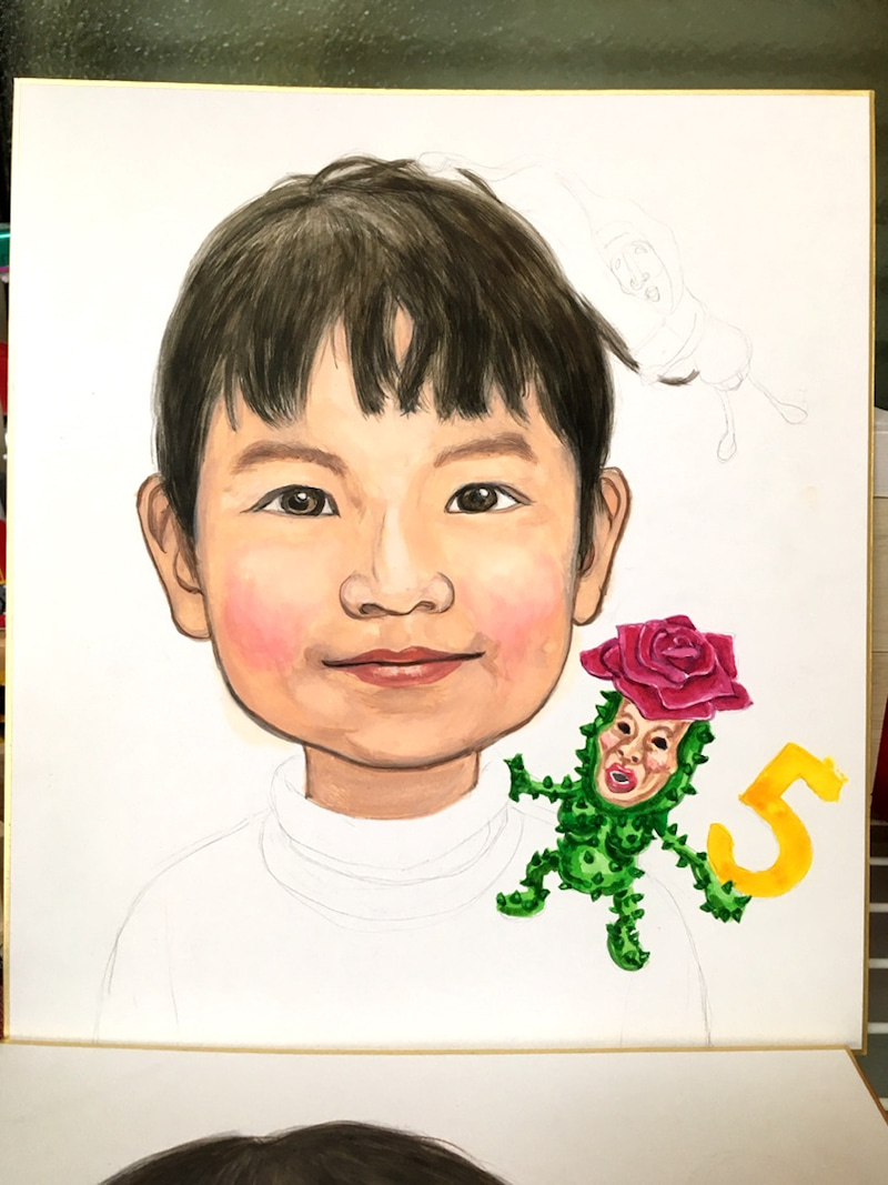 こびと図鑑さんを描いてみましたoo 工作で子どもがイキイキ