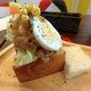 進化しすぎのサンドイッチ@WAWICHの画像