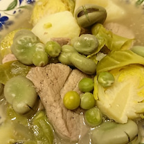 あぐー豚と豆のスープ煮の記事に添付されている画像