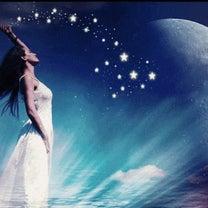 月に吸い込まれた乙女座満月ヒーリングの記事に添付されている画像