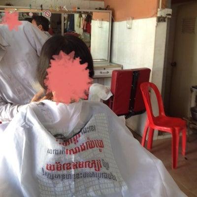 ローカル床屋さんで髪を切るの記事に添付されている画像