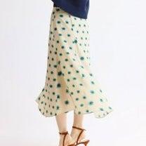 IENA 再入荷 レトロな雰囲気のランダムパネルスカート/イエナ・2019SSの記事に添付されている画像