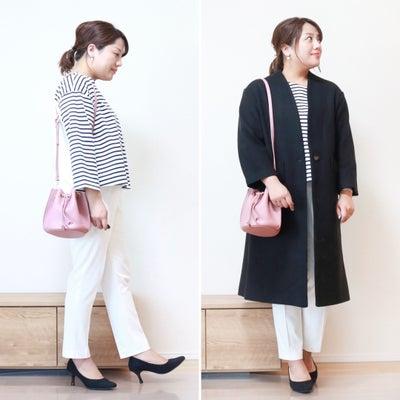 【ユニクロ】初心者でも挑戦しやすい白パンツ!で春の差し色コーデの記事に添付されている画像