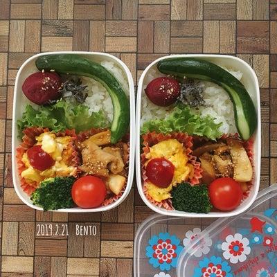 きょうのお弁当と ピリ辛かぶら[くらしのアンテナ]と夜ご飯の記事に添付されている画像