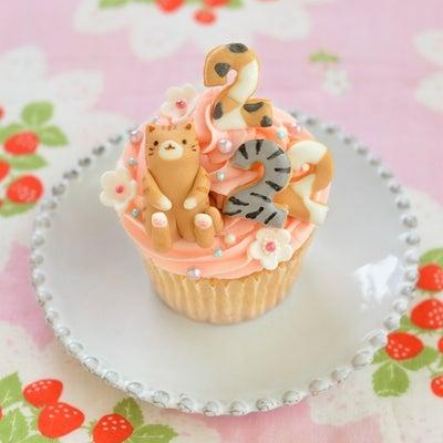 猫の日お祝いカップケーキ 書籍発売まであと1日!の記事に添付されている画像