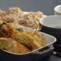 ストウブで「天ぷら」とざる蕎麦の記事に添付されている画像