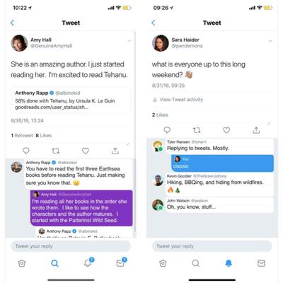 新機能のテストのための「Twitter Prototype Program」を発の記事に添付されている画像