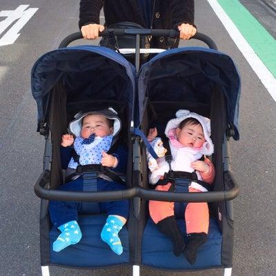 双子生後6m28d ついに2人乗りベビーカー購入!の記事に添付されている画像