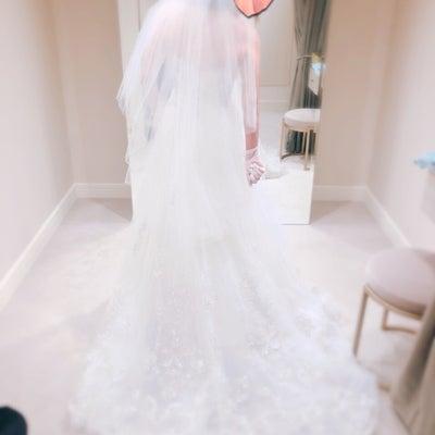 ウエディングドレス♡試着の記事に添付されている画像