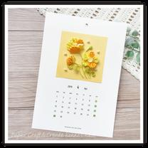 3月レッスン、4月のカレンダー見本出来ました!どちらにする?両方にする?の記事に添付されている画像