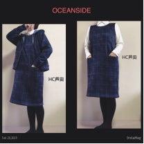 ポケット付きジャンバースカートコーデの記事に添付されている画像