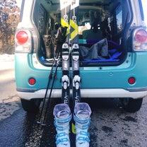 春スキーの記事に添付されている画像