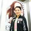 鈴木明子選手へのインタビューの画像