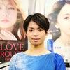 町田樹選手へのインタビューの画像