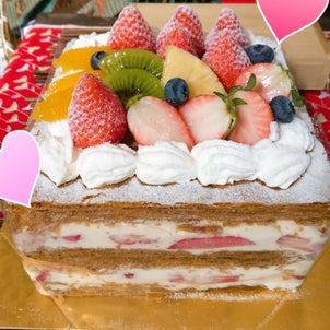 今週のオーダーメードケーキの画像