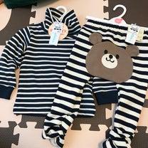 1歳2ヶ月☆西松屋セール③しましま服と毛布の記事に添付されている画像
