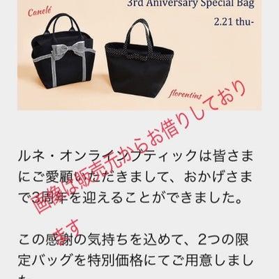 René 3rd Anniversary Special Bagの記事に添付されている画像
