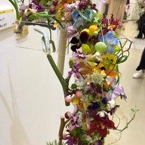 日本フラワーデザイン大賞2019可愛い花を見に来ました!#nfd #flowerの記事に添付されている画像