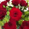 深紅の薔薇^_^の画像