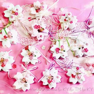 咲き誇る 桜のアロマストーンの記事に添付されている画像