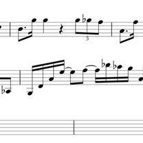 【こえのブログ】西谷国登のヴァイオリン聴音その16の記事に添付されている画像