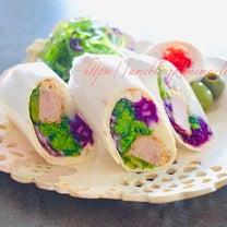 *お昼ごはん*〜余り物でとんかつブリトー〜の記事に添付されている画像