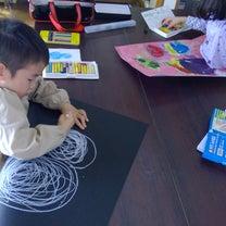 絵画クラス 教室の様子 2月23日の制作風景の記事に添付されている画像
