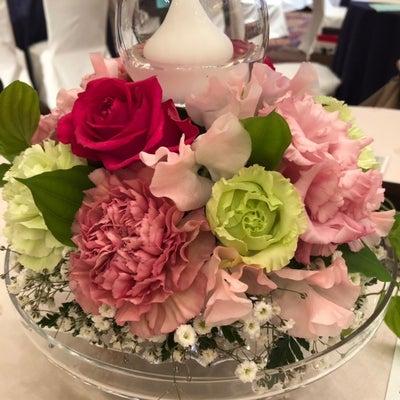 テーブル装花の記事に添付されている画像