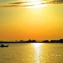 ~夕焼け 黄金の海と空~の記事に添付されている画像