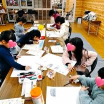 展示会出品用 家族の絵(*ˊ艸ˋ)♬*の記事に添付されている画像