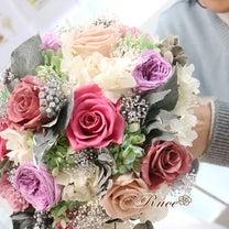 お母様お手製クラッチブーケと花冠♪の記事に添付されている画像