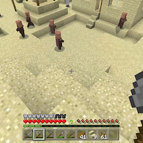 【Minecraft #35】ゆっくりマイクラ 交易がしたい。の記事に添付されている画像