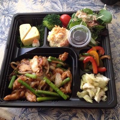 今日は、「にんにくの芽と豚肉のオイスターソース炒め弁当」の記事に添付されている画像