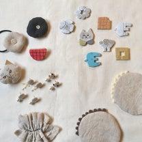 陶器ブローチ、布小物の記事に添付されている画像
