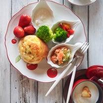 ☆元気の出る朝ごはんプレート☆器ちょこちょこ並べてワンプレートごはん☆の記事に添付されている画像