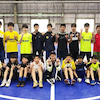 サッカー少年たちとダンスの画像