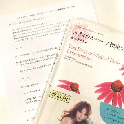 メディカルハーブ検定の試験対策レッスンの記事に添付されている画像