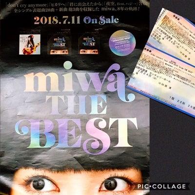 """miwa concert tour 2018-2019 """"miwa THE BEの記事に添付されている画像"""