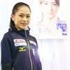 宮原知子選手へのインタビューの画像