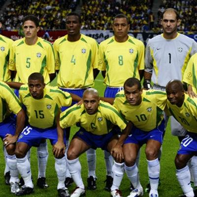 ブラジル代表歴代ベストイレブンの記事に添付されている画像
