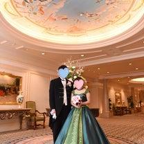 【ミラコスタ❀当日レポ 19】カラードレスで記念撮影の記事に添付されている画像