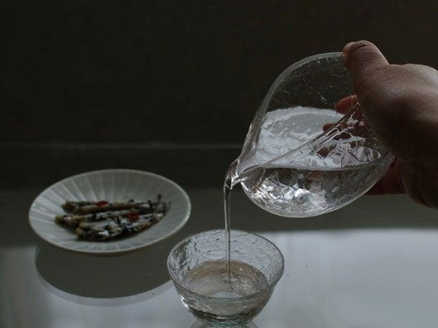 【再入荷】橋村大作さん ガラスの酒器
