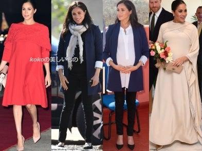 英国王室メーガン妃 モロッコ公式訪問 ハリー王子 ロイヤルツアーファッション2019年2月