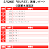【BURST(バースト)】(茨城県)麗都水海道店 2月26日《速報レポート》の画像