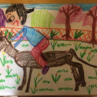 馬や動物の絵の簡単な描き方 小学校受験の記事に添付されている画像