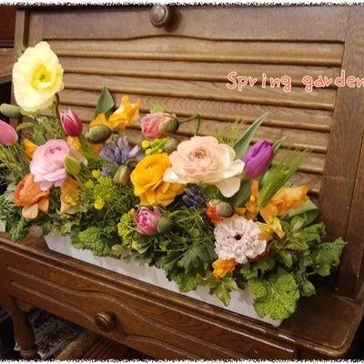春の庭園の記事に添付されている画像