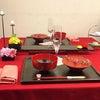 お雛祭りのお膳を素敵にコーディネート⑵の画像