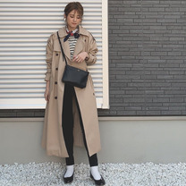 可愛いプチプラトレンチ♡の記事に添付されている画像