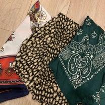スカーフを使ったコーデ♡と、持ってるスカーフ紹介♬の記事に添付されている画像